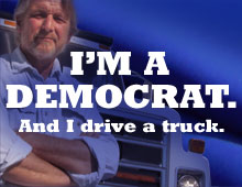 And I drive a truck.