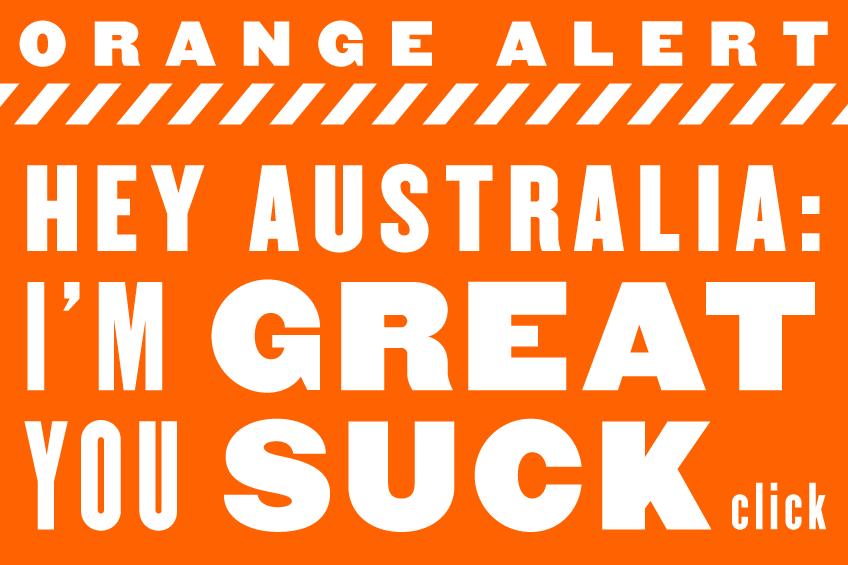 Orange-Alert-Australia