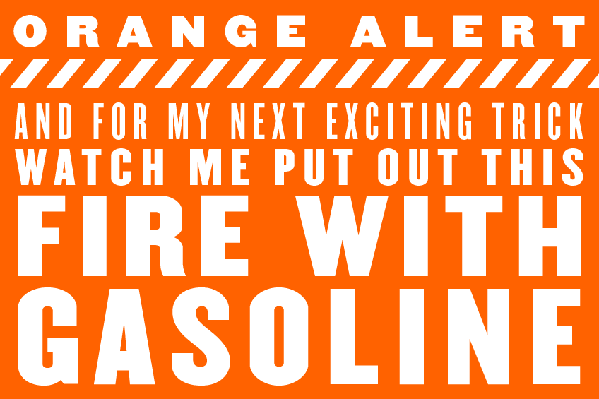 Orange-Alert-Gasoline