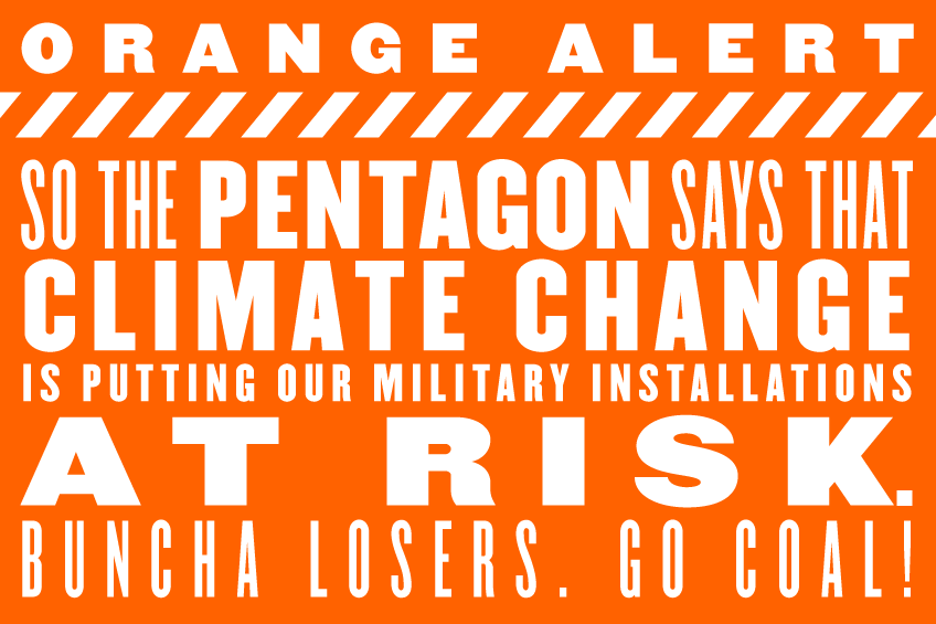Orange-Alert-Pentagon-Climate