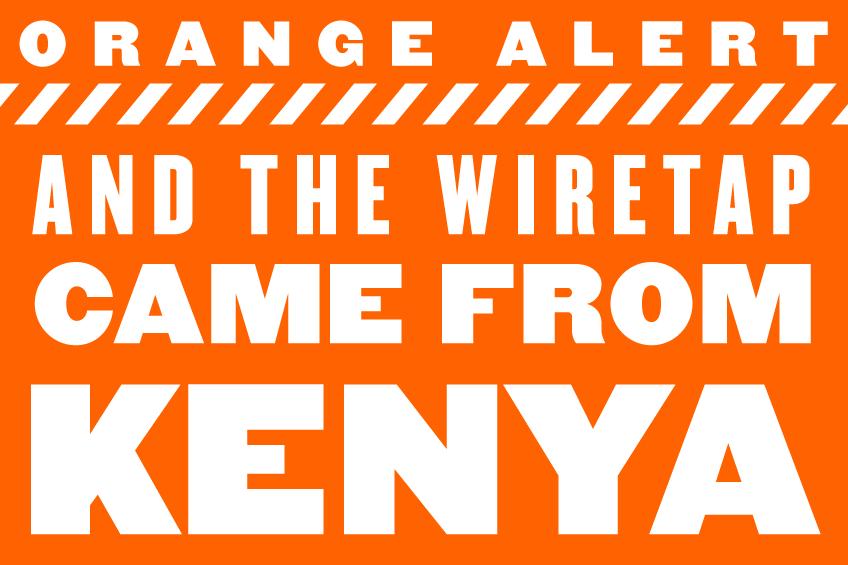 Orange-Alert-Wiretap