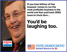 Vote Democratic Ad Concepts